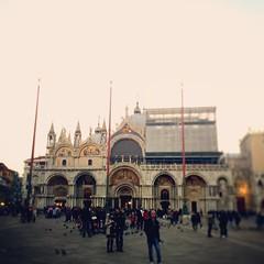 St. Marco Tiltshift, Venice, Italy, 2015