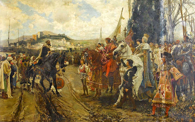 The Capitulation of Granada, by Francisco Pradilla