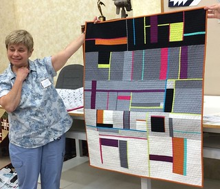 Suzanne's Abstract Quilt #1