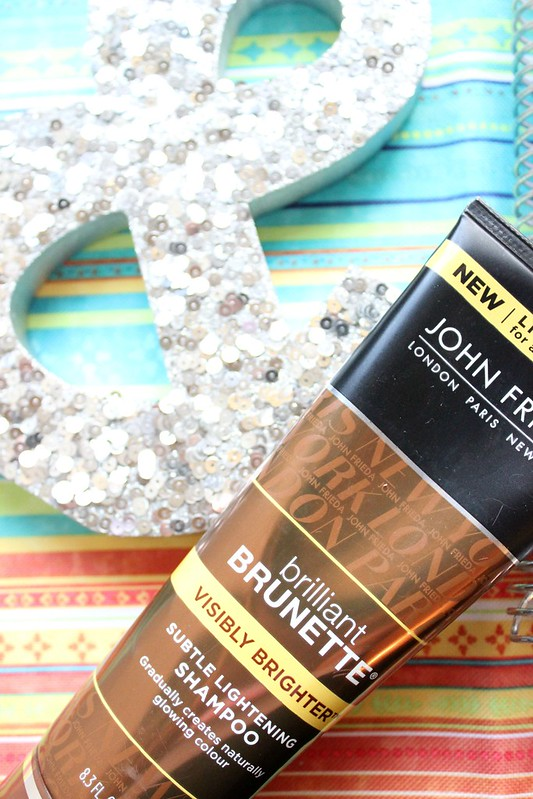 John Frieda Brilliant Brunette Results #RethinkYourColour