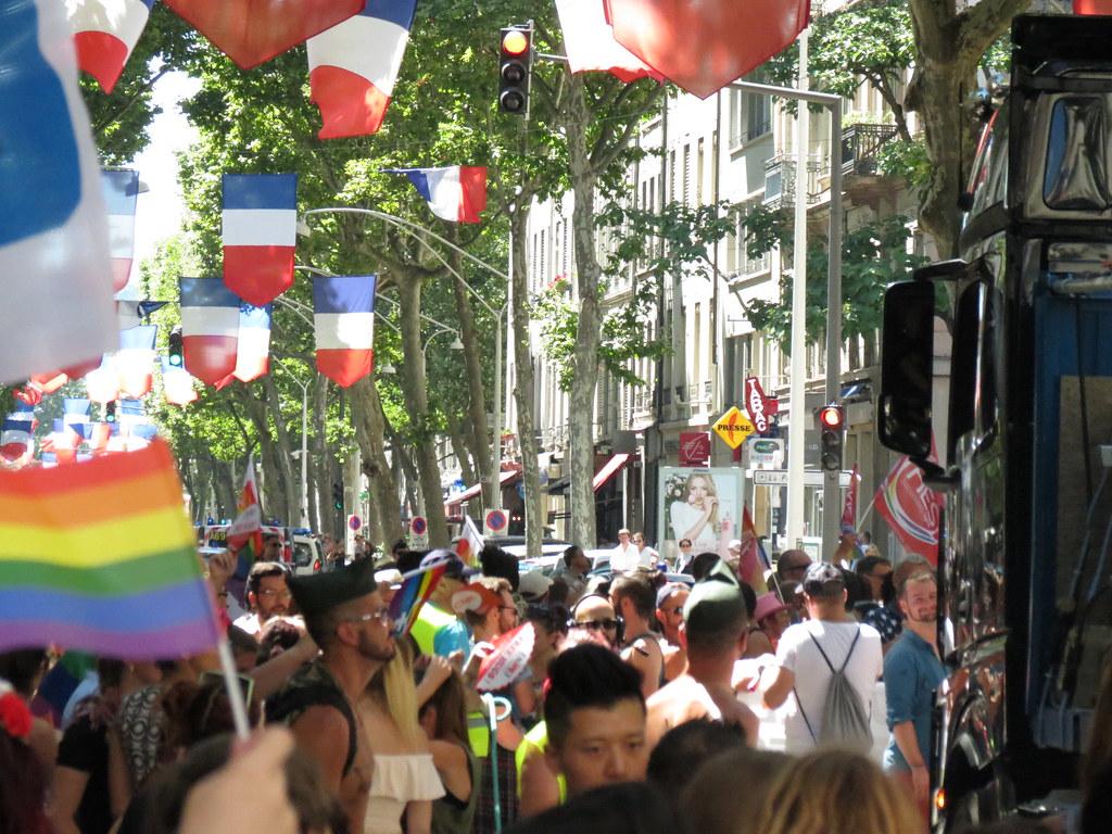 Gay pride Lyon 2016
