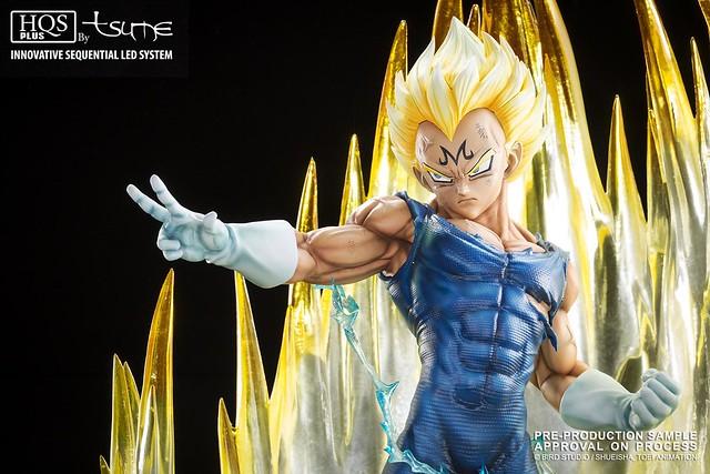TSUME 七龍珠系列【七龍珠Z:魔人達爾】HQS+ Majin Vegeta 1/4 比例全身雕像