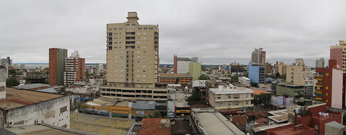 Posadas: vue de notre hôtel
