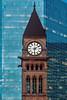 Clock tower of Old City Hall, Toronto