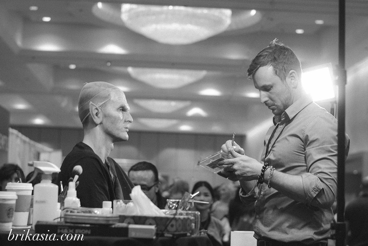 The Makeup Show Orlando 2014 Recap, Jonah Levy, special effects makeup