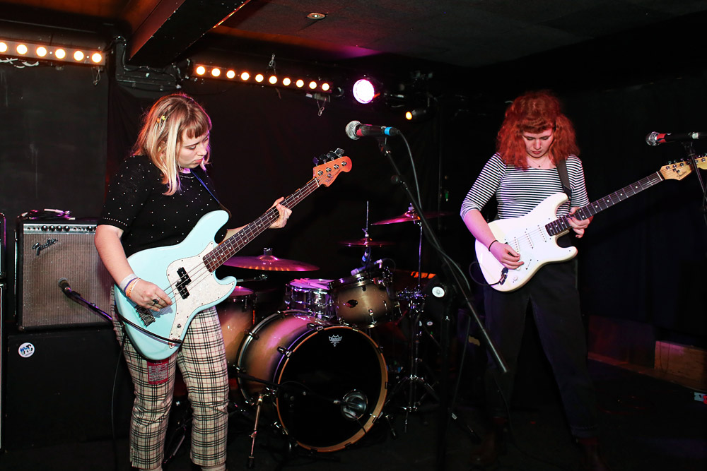 Girlpool @ Sebright Arms, London 19/11/14