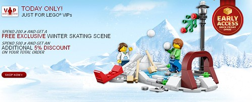 Early access to exclusive offers for LEGO® VIPs! - LEGO Shop 2014-11-22