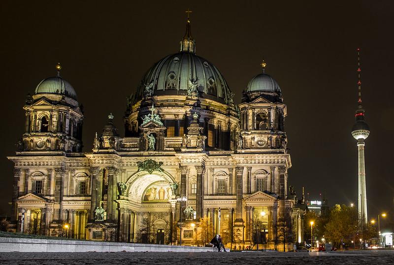Oberpfarr und Domkirche Catedral in Berlin / Berliner Dom