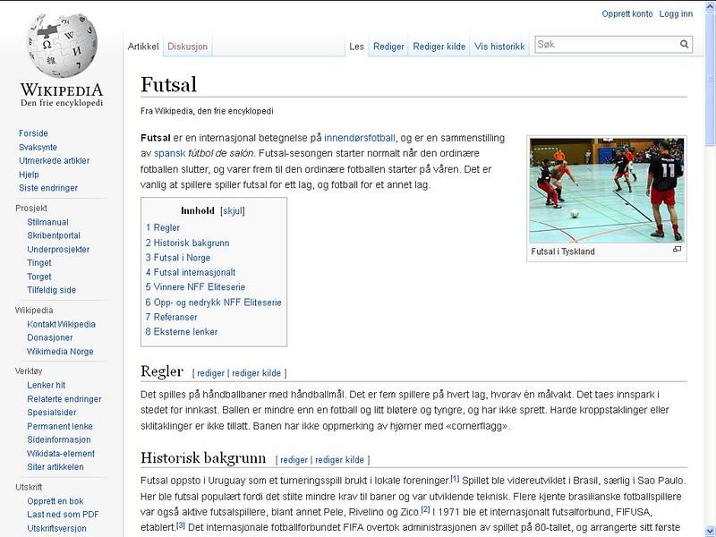 futsal wiki