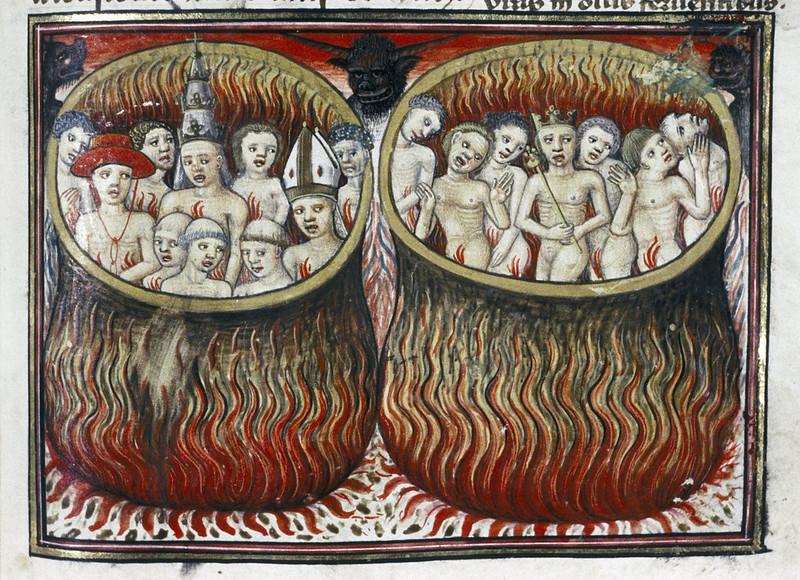 Demons From The Livre de la vigne nostre Seigneur, 1450 - 70 (25)