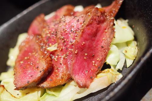 beef steak A4ランク黒毛和牛ステーキ  ~ 洋風Wasabi ソース ~