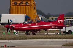 HB-HZA - P01 - Pilatus - Pilatus PC-21 - Fairford RIAT 2006 - Steven Gray - CRW_1269