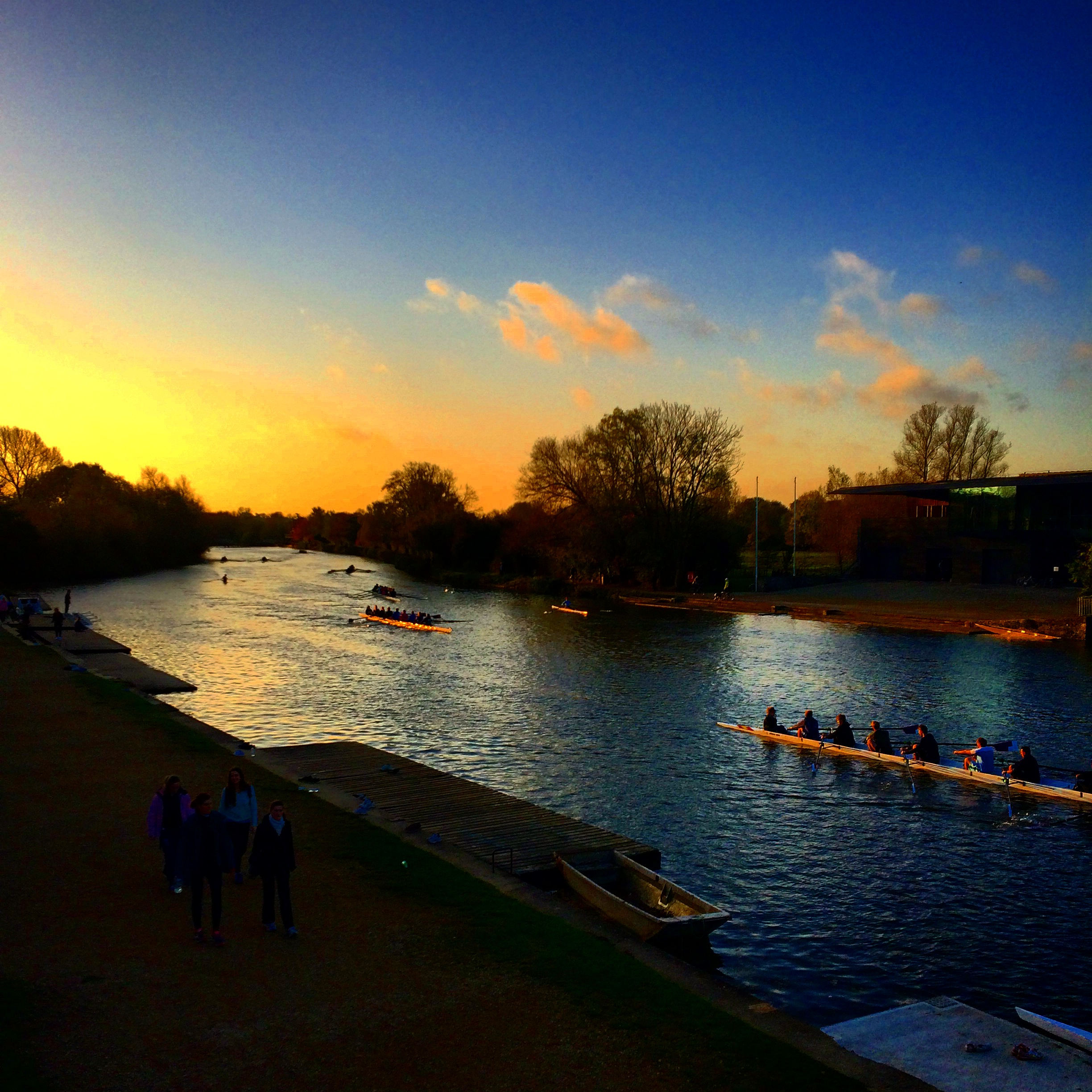 #Sunrise and #Sunset over the Isis in #oxford