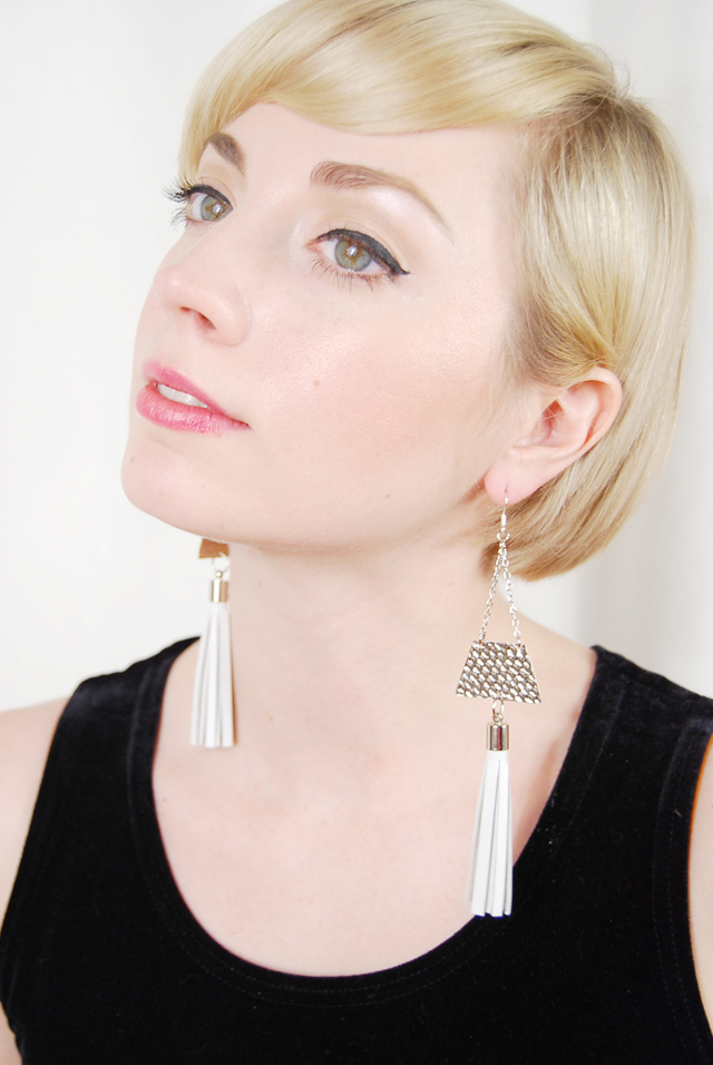 whitetriangleearrings