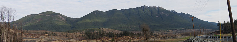 Mountains Near Oso Landslide