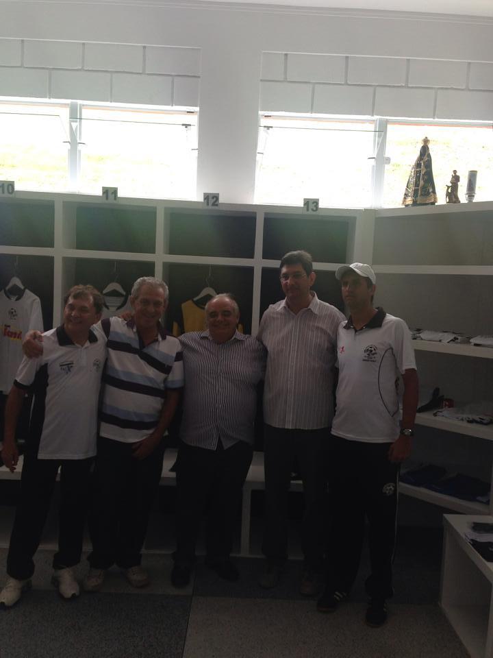 em Eloi Mendes da inauguração do novo complexo esportivo Bola Preta sob o comando do amigo Ricardo Xavier4