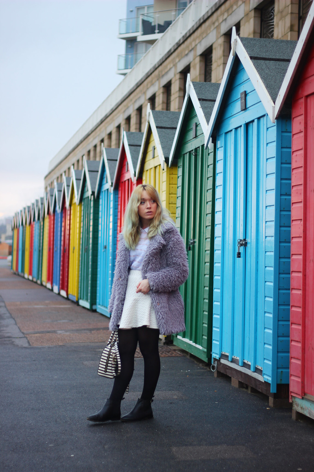 2ootd, pastel_outfit, girly, fluffy_coat, blogger_style, trend