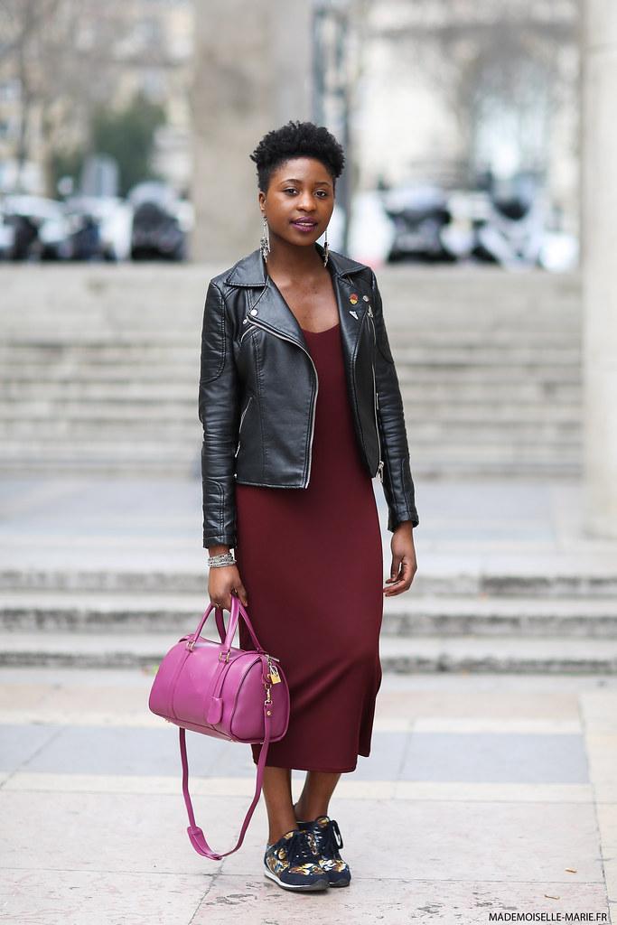 Anoushka at Paris fashion week