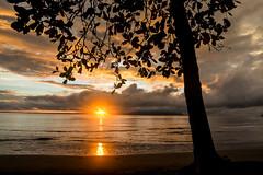 sunrise before morning meditation