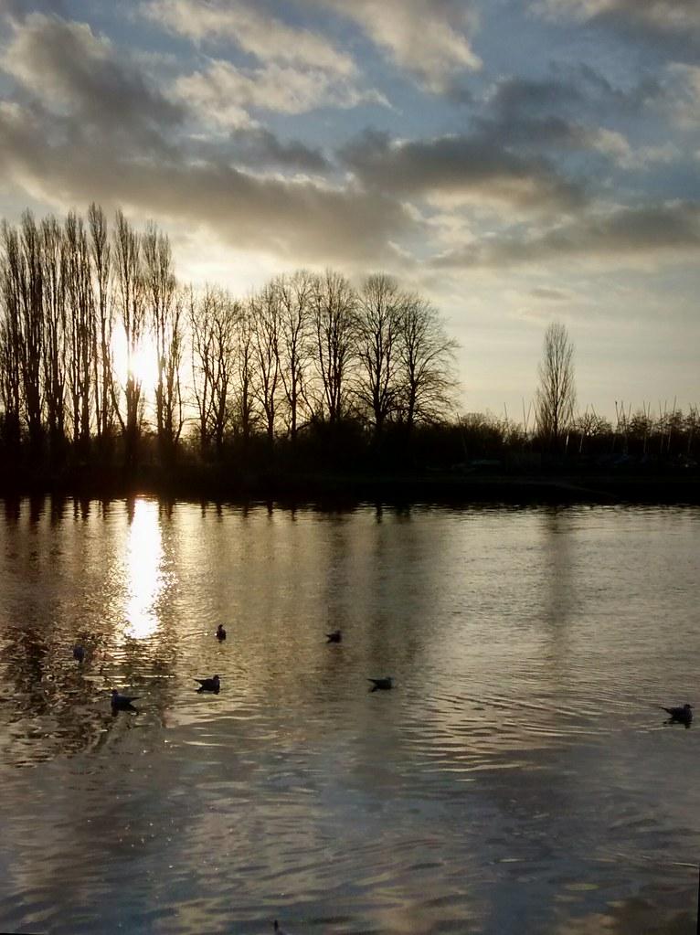 Christmas day - River Thames