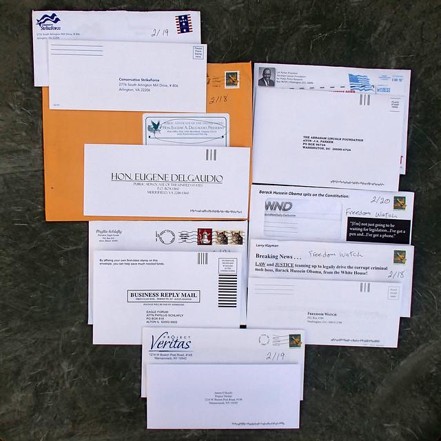 7 political junk mail