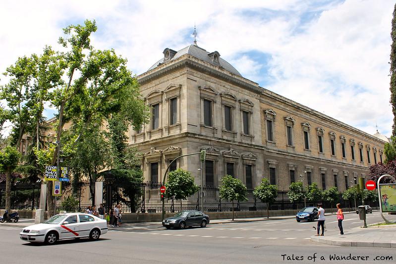 MADRID - Palacio de Biblioteca y Museos Nacionales