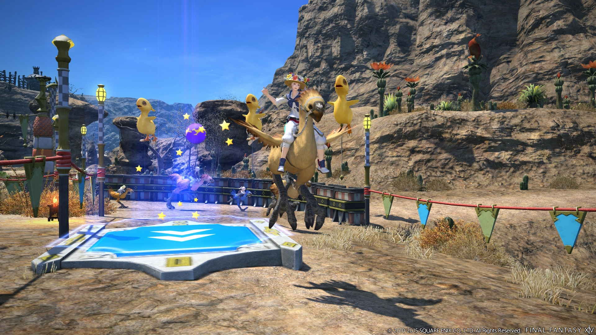 New Final Fantasy XIV update introduces the Manderville Gold Saucer