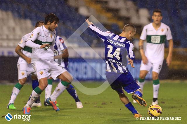 Jornada 15ª. R.C.Deportivo - Elche