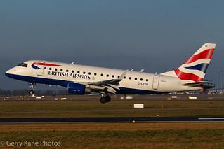 British Airways (Citiflyer) Embraer EMB-170 G-LCYH EIDW 030215