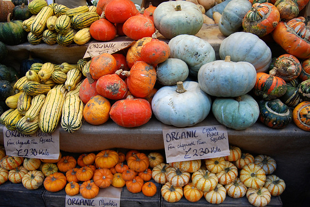Chegworth Farms Squashes at Borough Market