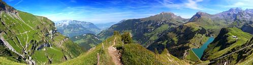 panorama alpen bannalp walenpfad