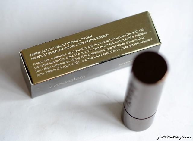 Hourglass Femme Rouge Velvet Creme Icon Lipstick2