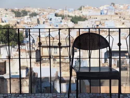 Jodhpur Rajasthan India Blue City Old Town Navchowkiya Indien