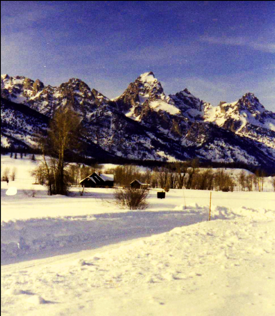 Grand Tetons in the winter