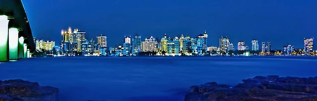 Skyline of Sarasota, Florida, U.S.A.
