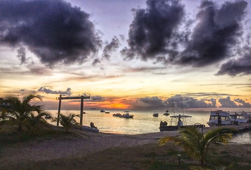 ocean travel sunset sea sun water st clouds landscape boats caribbean hdr nevis kitts iphone6