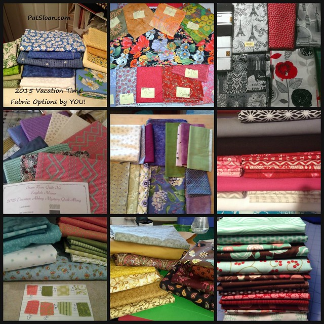 pat sloan 2015 vacation time your fabrics collage 2