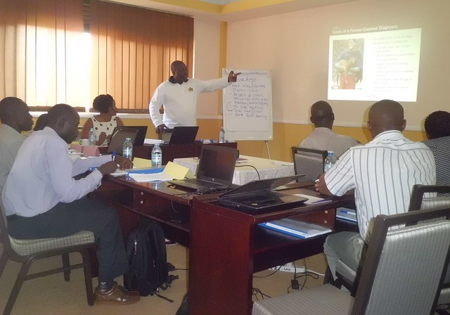 FEAST training in Kampala, December 2014