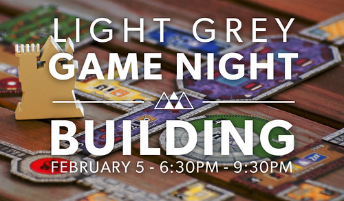 Light Grey Game Night: Building