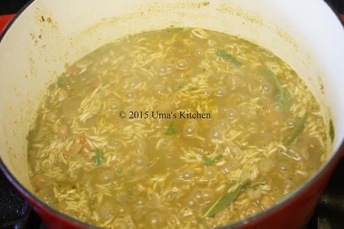 Mint rice 7