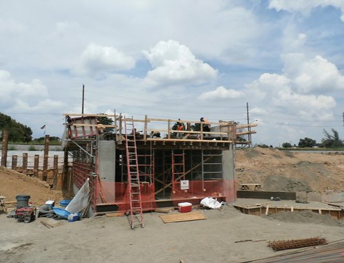 Photo of underpass construction at Arvada Ridge Station