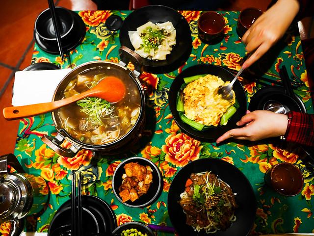苗栗 頭份–新奇中國菜–熱鍋子酒肆菜館