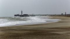Blowing sand, Scheveningen