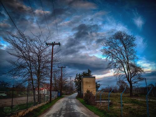 road sunset atmosphere explore greece drama hdr cloudsandsky dhrama