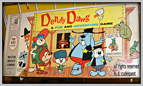deputy dawg game 1960's