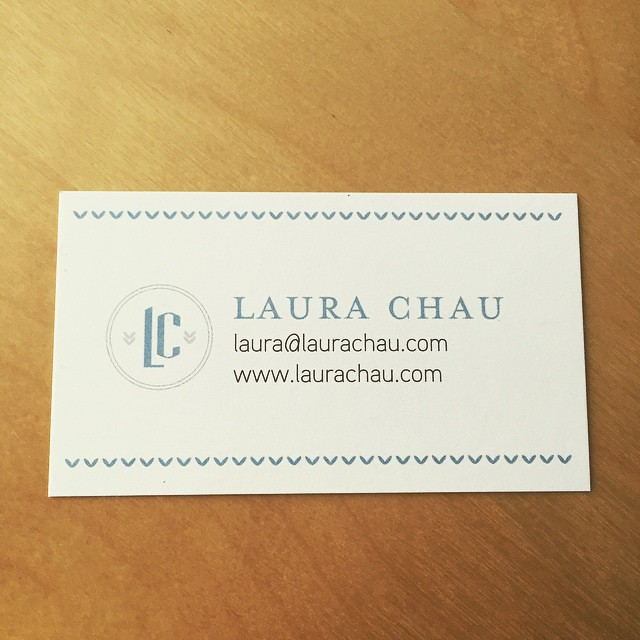 New business cards! Been ages since I ordered some.
