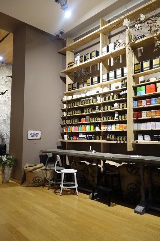 La Bohème Café stěna