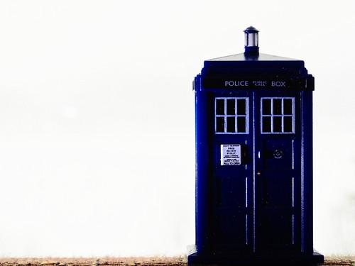 White Out TARDIS