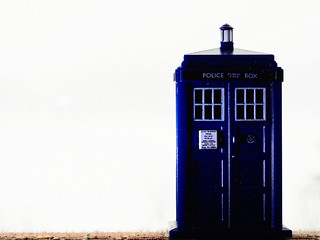 White Out TARDIS