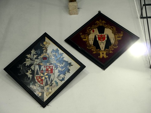Hatchments, St Mary`s Breamore Hants